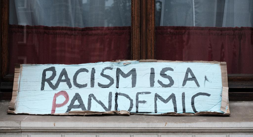 Racism is a pandemic sign